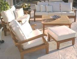 Used Patio Furniture Clearance by Outdoor Compact Teak Patio Table And Chairs Furniture Set With