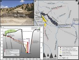 Co Surface Management Status Canon City Map Bureau Of Land by Incision History Of The Black Canyon Of Gunnison Colorado Over