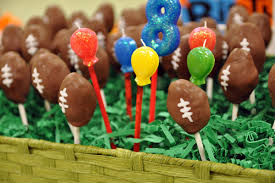 football cake recipe football cake pops the healthified