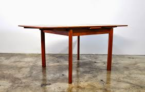 Expandable Dining Room Tables Select Modern Danish Modern Teak Expandable Dining Room Table
