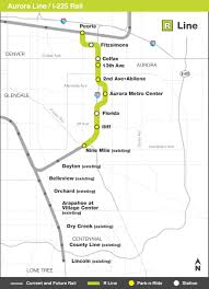 Metro Gold Line Map Rtd Facts And Figures I 225 Rail Line