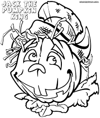 jack pumpkin king coloring pages coloring pages to download and