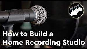 How To Build A Home Recording Studio Equipment List Youtube Create Your Own Home Recording Studio
