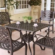 Black Outdoor Furniture by Black Vintage Cast Aluminum Patio Furniture Conversation Sets With