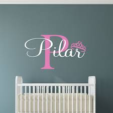 Personalized Name Wall Decals For Nursery by Custom Name Wall Decals And Personalized Graphics Personalized