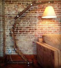 Home Decor Floor Lamps Rustic Wooden Floor Lamp Home Decor U0026 Lighting A Walk Through