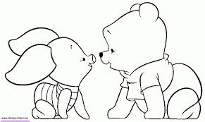 winnie pooh coloring pages print kids 70571