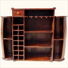 furniture solid wood liquor cabinet bar wine storage rack and