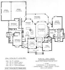 2 car garage sq ft plan no 2941 0605
