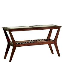 Pine Console Table Sun U0026 Pine Console Table Redwood Brown Target