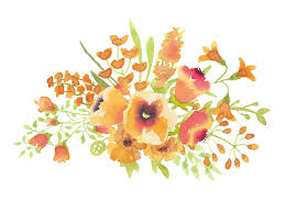 Watercolor Flowers - free illustration watercolor flower leaf floral free image