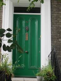 room simple green door paint decor color ideas best to green