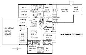 2500 sq ft floor plans craftsman style house plan 4 beds 2 50 baths 2500 sq ft plan 45 369