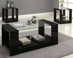 3 piece black coffee table sets end tables designs black coffee and end table set black coffee and