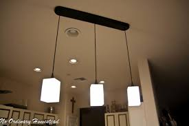 Hanging Lights For Kitchen by Bringing New Light Into The Kitchen No Ordinary Homestead