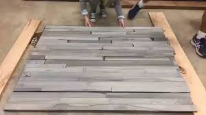 timelapse driftwood gray look on maple flooring