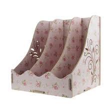 boite de rangement papier bureau bxt 3 compartiments boîte de rangement étagère en bois haute