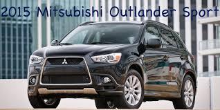 mitsubishi outlander 2015 interior 2015 mitsubishi outlander sport review youtube