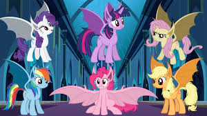 my little pony vampire bats in nightmare moon u0027s castle coloring