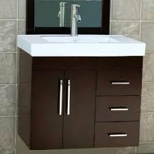 pedestal sink vanity cabinet 30 bathroom vanity wall mount solid wood cabinet ceramic top sink