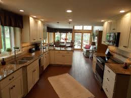 kitchen sink and cabinet decorating paint medallion cabinetry with ceiling lights and
