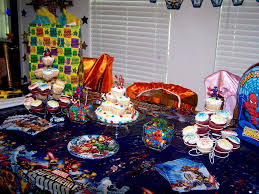 birthday decoration ideas for kids parties decorating of party