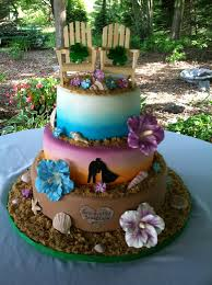 tropical themed wedding tropical wedding cakes weddings wedding cake
