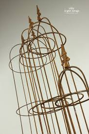 small plant supports metal plant stands for climbers 3 hoop high garden pinterest