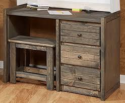 harriet bee dey driftwood student desk and chair set reviews wayfair