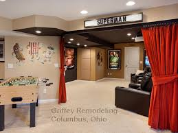 Curtain Room Separator Curtain Room Dividers Basement Traditional With Award Winner Award