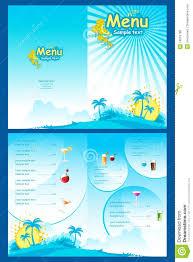 menu template royalty free stock photos image 19016788