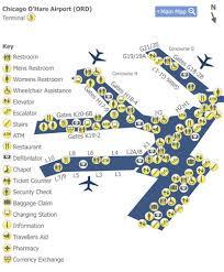 chicago o hare terminal map chicago o hare airport ord terminal 3 map map of terminal 3 at