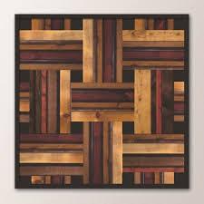 scrap wood wall stained wood weave scrap wood designs