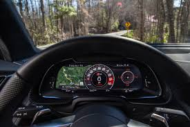 audi r8 gauges one week with 2017 audi r8 v10 automobile magazine