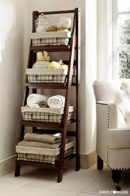 Diy Small Bathroom Storage Ideas by Top 25 Best Linen Storage Ideas On Pinterest Organize A Linen
