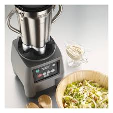 blender cuisine waring commercial one gallon 3 75 hp food blender with electronic keypad