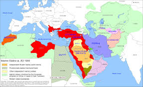 A Map Of The Middle East by Confederation Notes On Liberty