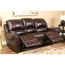 abbyson living hogan leather reclining 2 piece sofa set ch 8811