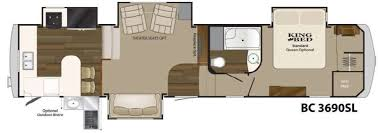 Heartland 5th Wheel Floor Plans | used 2013 heartland big country 3690 sl fifth wheel at flagg rv