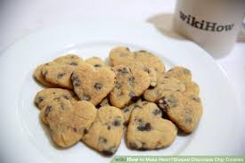 heart shaped cookies how to make heart shaped chocolate chip cookies 11 steps