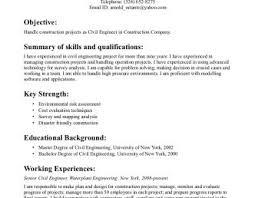 construction resume exle resume sles civil engineering description definition