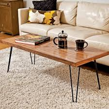 Hairpin Legs Coffee Table Amazing Of Hairpin Leg Coffee Table Table With Hairpin Legs