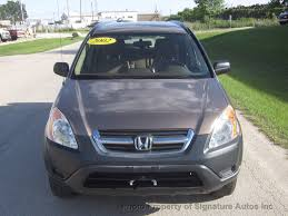 2002 used honda cr v 4wd lx automatic at signature autos inc