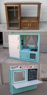 homemade play kitchen ideas 15 diy furniture makeover ideas tutorials for kids hative