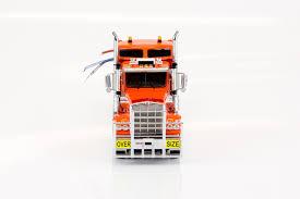 largest kenworth truck 1 50 kenworth c509 sleeper prime mover truck orange drake
