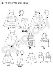 simplicity 2171 matilda jane rip off dress pattern favorite