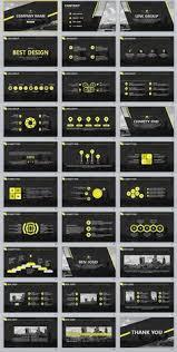 31 best gray business powerpoint template presentation