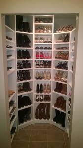 ikea billy book shelves for a cheep way to do a shoe closet