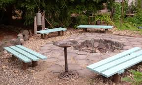Firepit Bench Concrete Pit And Bench Knowing Some Of Pit Benches
