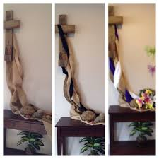 church decorations for easter church entrance for lent friday then easter easter